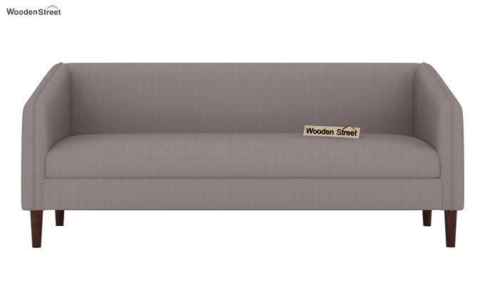 Letcher 3 Seater Sofa (Fabric, Warm Grey)-2