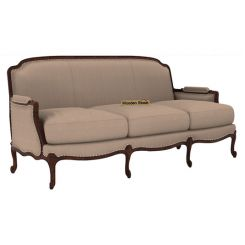 Margret 3 Seater Sofa (Fabric, Irish Cream)