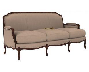Margret 3 Seater Sofa (Fabric, Irish Cream)