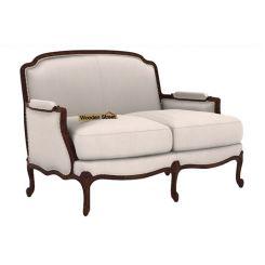 Margret 2 Seater Sofa (Fabric, Ivory Nude)