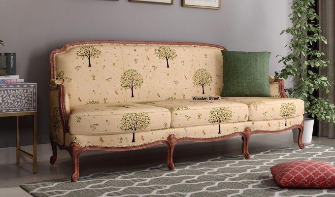 Margret 2 Seater Sofa (Linen, Beige Pomme)-7