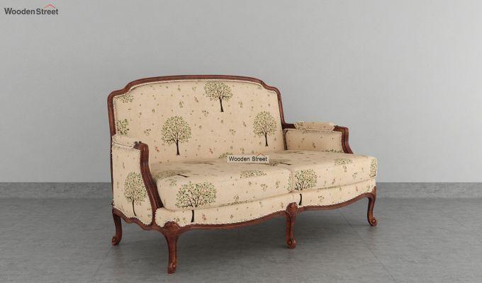 Margret 2 Seater Sofa (Linen, Beige Pomme)-2