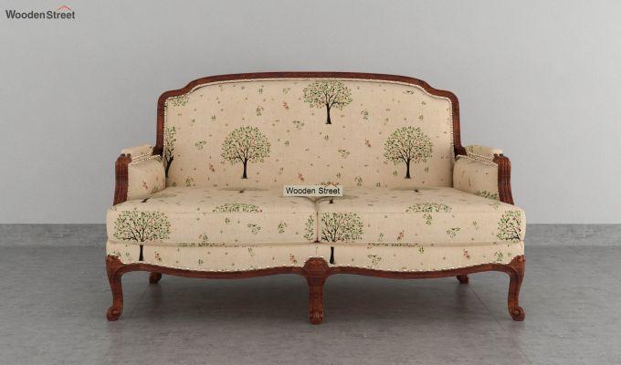 Margret 2 Seater Sofa (Linen, Beige Pomme)-3