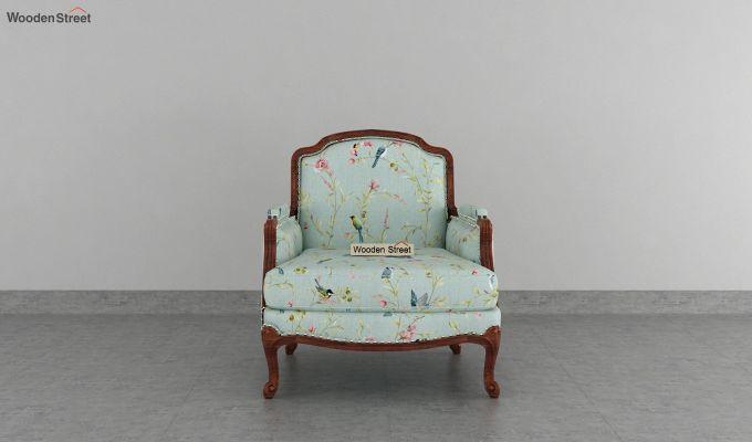 Margret 2 Seater Sofa (Linen, Bubble Robins)-6