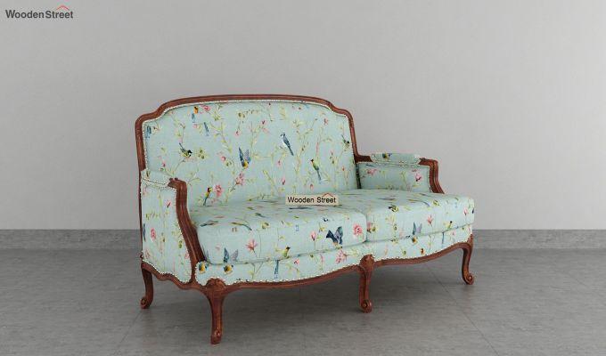 Margret 2 Seater Sofa (Linen, Bubble Robins)-2