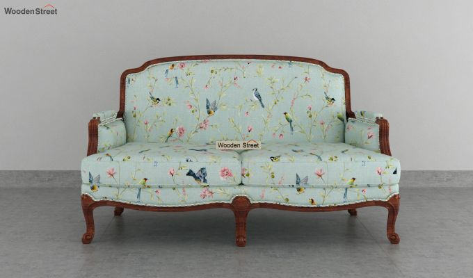 Margret 2 Seater Sofa (Linen, Bubble Robins)-3