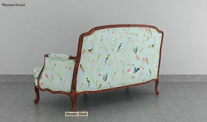 Margret 2 Seater Sofa (Linen, Bubble Robins)-4