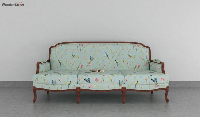 Margret 2 Seater Sofa (Linen, Bubble Robins)-8