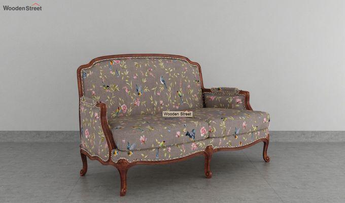Margret 2 Seater Sofa (Linen, Grey Robins)-2