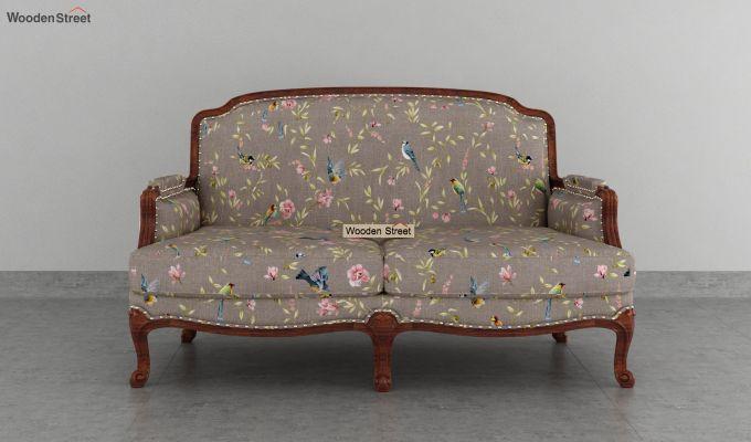 Margret 2 Seater Sofa (Linen, Grey Robins)-3