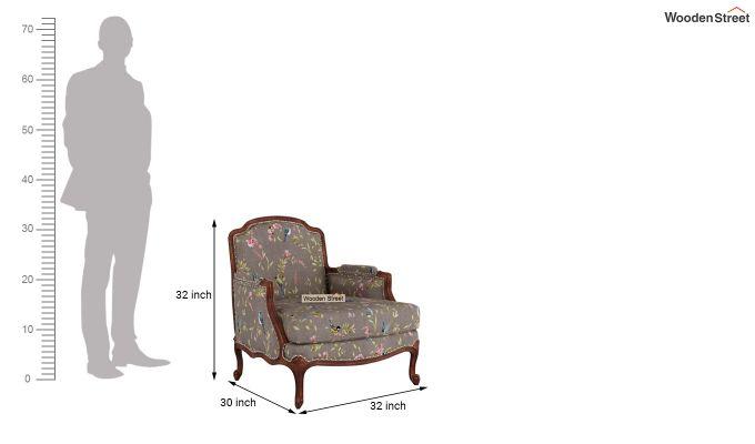 Margret 2 Seater Sofa (Linen, Grey Robins)-9