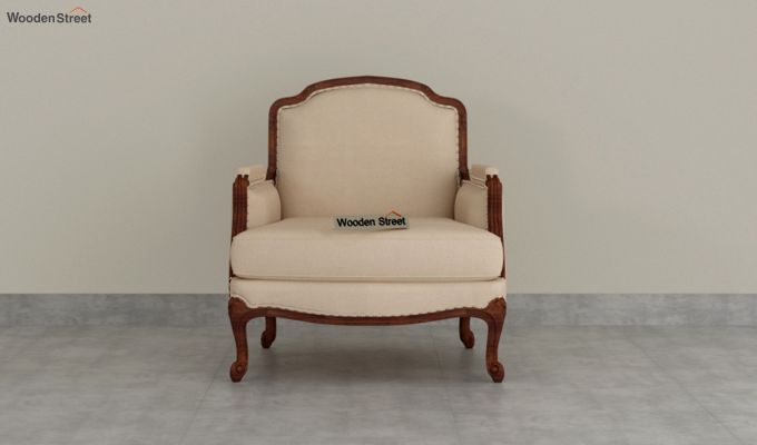 Margret 2 Seater Sofa (Fabric, Irish Cream)-6