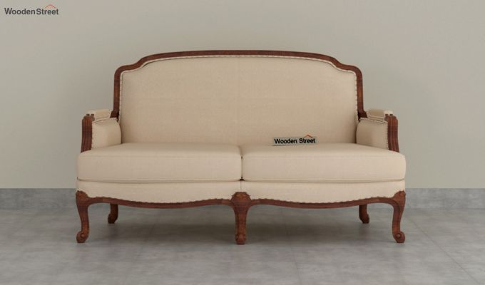 Margret 2 Seater Sofa (Fabric, Irish Cream)-3