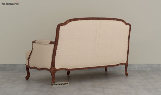 Margret 2 Seater Sofa (Fabric, Irish Cream)-4