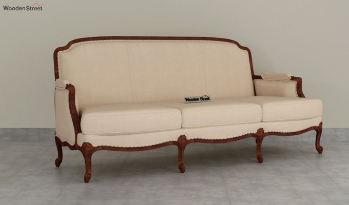 Margret 2 Seater Sofa (Fabric, Irish Cream)-7