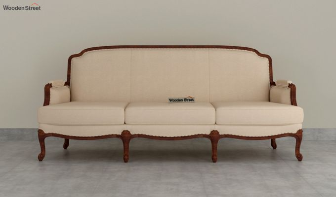 Margret 2 Seater Sofa (Fabric, Irish Cream)-8