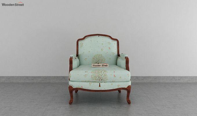 Margret 2 Seater Sofa (Linen, Teal Pomme)-6