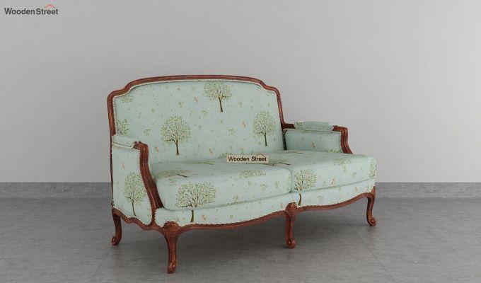 Margret 2 Seater Sofa (Linen, Teal Pomme)-2