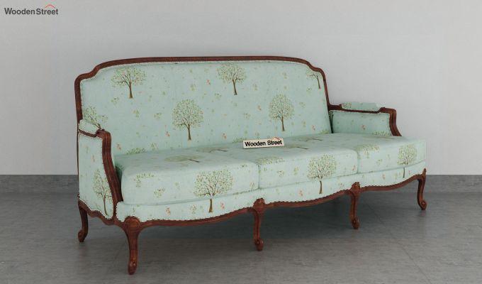 Margret 3 Seater Sofa (Linen, Teal Pomme)-2