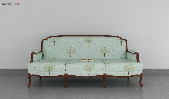 Margret 2 Seater Sofa (Linen, Teal Pomme)-8