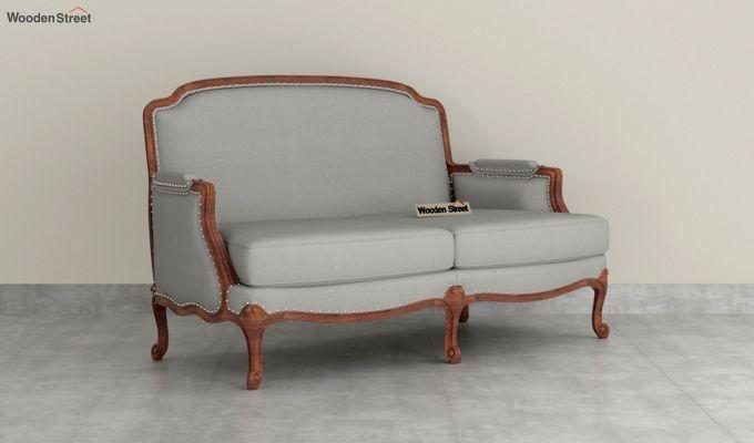 Margret 2 Seater Sofa (Fabric, Warm Grey )-2