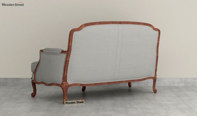 Margret 2 Seater Sofa (Fabric, Warm Grey )-4