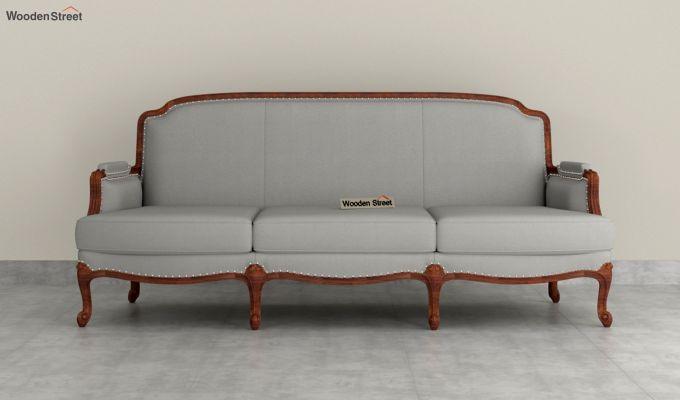 Margret 2 Seater Sofa (Fabric, Warm Grey )-8