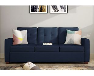 Nicolas 3 Seater Sofa (Indigo Ink )
