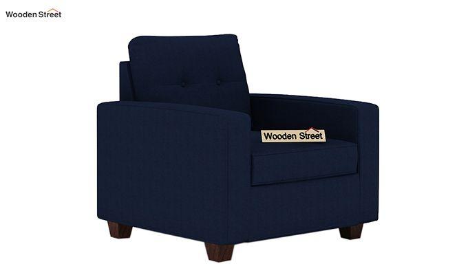 Nicolas 1 Seater Sofa (Indigo Ink)-1