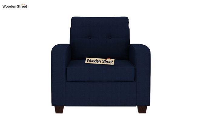 Nicolas 1 Seater Sofa (Indigo Ink)-2