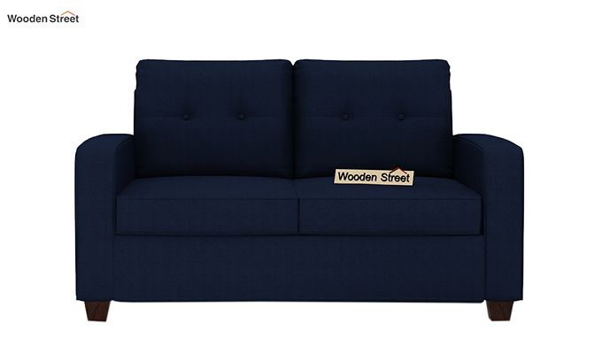 Nicolas 2 Seater Sofa (Indigo Ink)-2