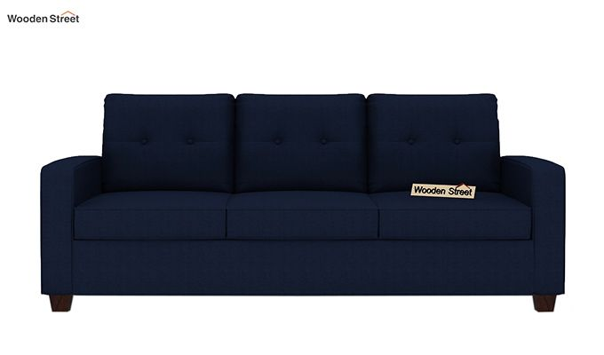 Nicolas 3 Seater Sofa (Indigo Ink )-2