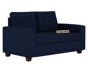 Nicolas 2 Seater Sofa (Indigo Ink)