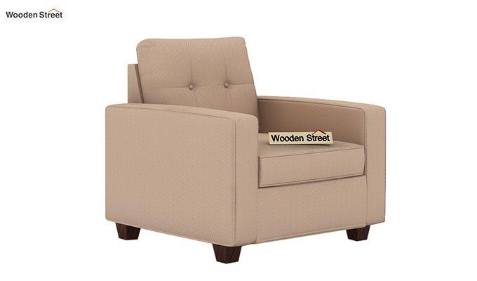 Nicolas 1 Seater Sofa (Irish Cream)-2