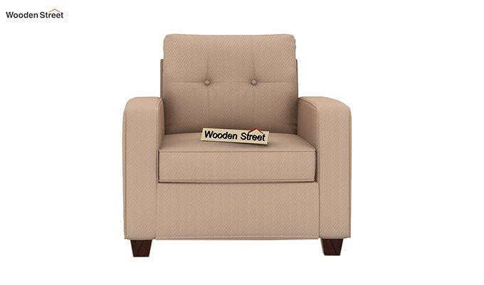 Nicolas 1 Seater Sofa (Irish Cream)-3