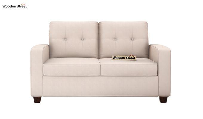 Nicolas 2 Seater Sofa (Ivory Nude)-2
