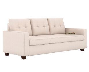 Nicolas 3 Seater Sofa (Ivory Nude)