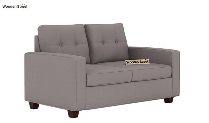Nicolas 2 Seater Sofa (Warm Grey)-1