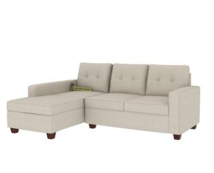 Nicolas Left Aligned 2 Seater + Chaise (Ivory Nude)