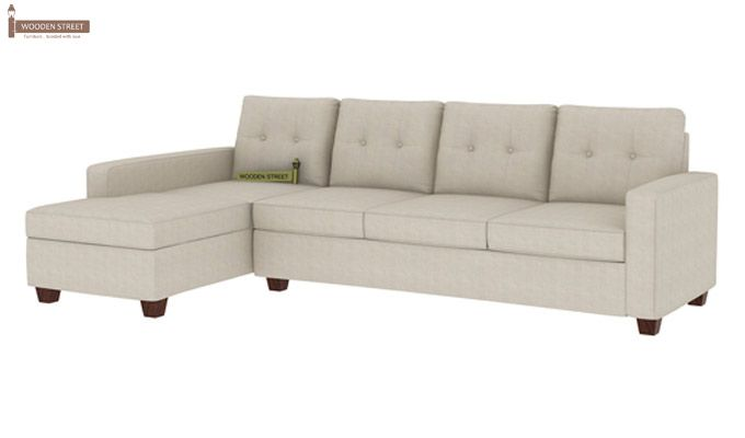 Nicolas Left Aligned 3 Seater + Chaise (Ivory Nude)-1