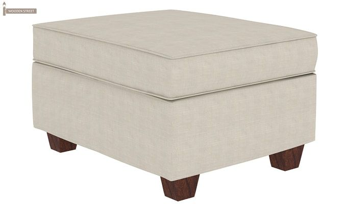 Nicolas Left Aligned 3 Seater + Chaise + Ottoman (Ivory Nude)-4