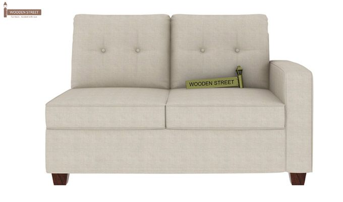 Nicolas Left Aligned 2 Seater + Chaise (Ivory Nude)-3