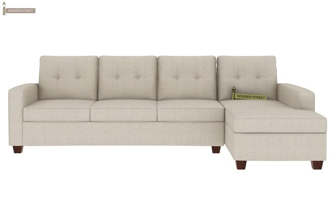 Nicolas Right Aligned 3 Seater + Chaise (Ivory Nude)-2