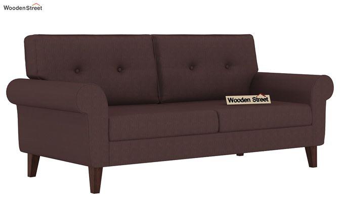 Orlando 3 Seater Sofa (Classic Brown)-1