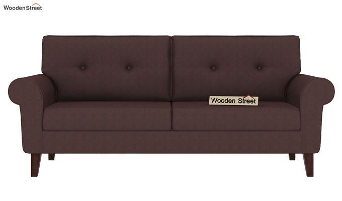 Orlando 3 Seater Sofa (Classic Brown)-2