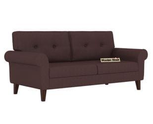 Orlando 3 Seater Sofa (Classic Brown)