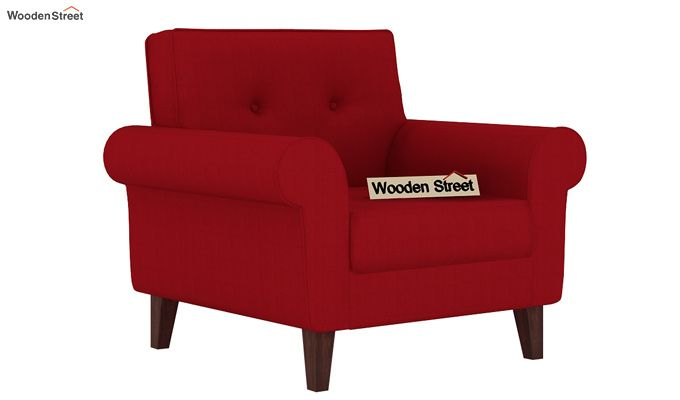 Orlando 1 Seater Sofa (Dusky Rose)-1