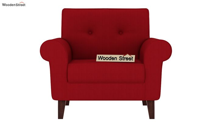 Orlando 1 Seater Sofa (Dusky Rose)-2