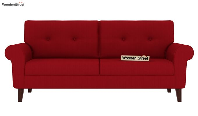 Orlando 3 Seater Sofa (Dusky Rose)-2