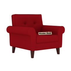 Orlando 1 Seater Sofa (Dusky Rose)